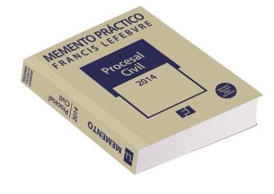 memento pr¿ctico procesal civil 2014(libro lecciones de dere