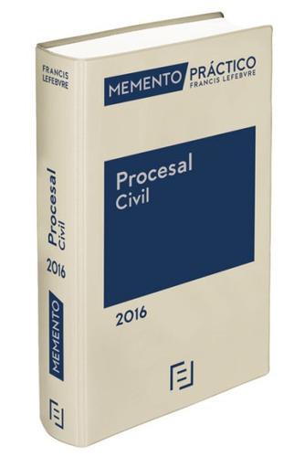 memento pr¿ctico procesal civil 2016: proceso civil, arbitra