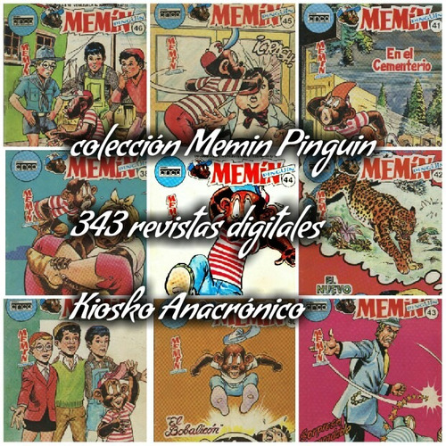 memin pinguin 700 revistas antiguas digitalizadas