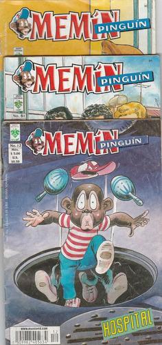 memin pinguin - historieta diferentes numeros (5 pzas)