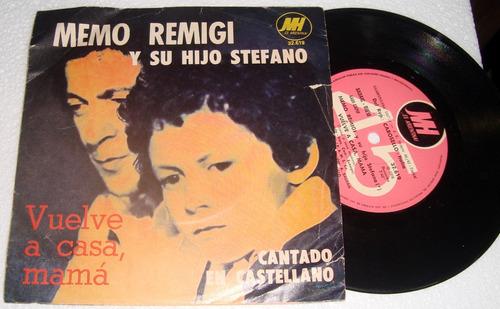 memo remigi y su hijo stefano vuelve a casa simple c/tapa