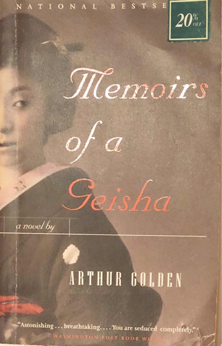 memoirs of a geisha. arthur golden