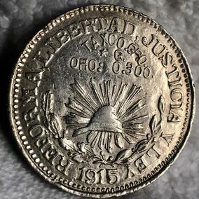 3942a09577e5 Moneda  1 Peso Taxco Plata 1915 Excelente Plata Excelente