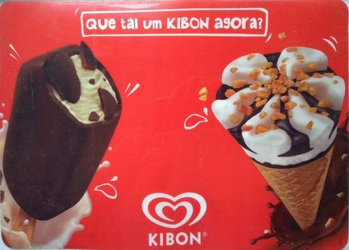 memorabilia kibon jogo americano para pratos