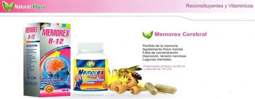 memorex b12 natural plus cap x 100 ext x 500ml