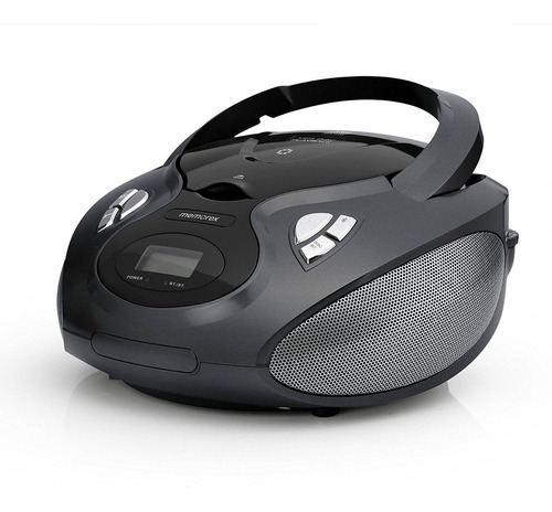 memorex bluetooth cd-am-fm-mp3 flexbeats boombox portátil co