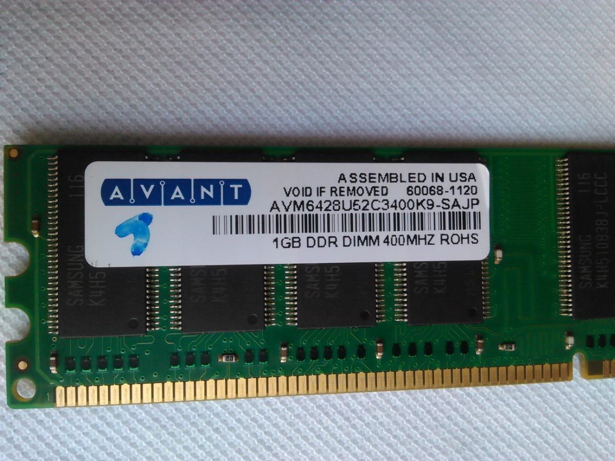 Avant AVM6428U52C3400K9 1GB DDR DIMM 400MHz