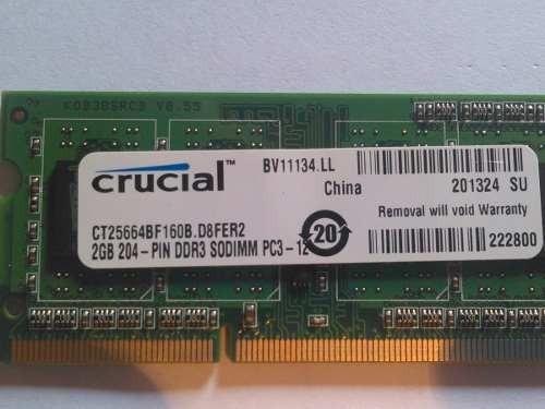 memoria 1 giga ddr2 para laptop o minilaptops