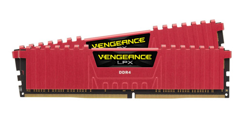 memoria 16gb 2x8 2400 ddr4 corsair vengeance lpx  intel amd