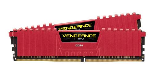 memoria 16gb 2x8gb 2400mhz corsair vengeance lpx disipador