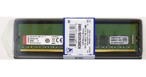 memória 16gb ddr4-2400 ecc udimm hp ml30 dl20 g9 microserver