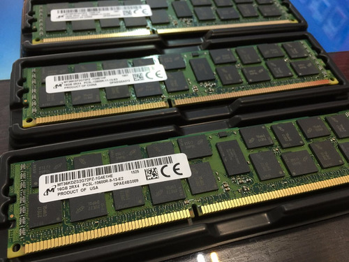 memória 16gb pc3l-12800r hp proliant ml330 ml350 ml370 g6