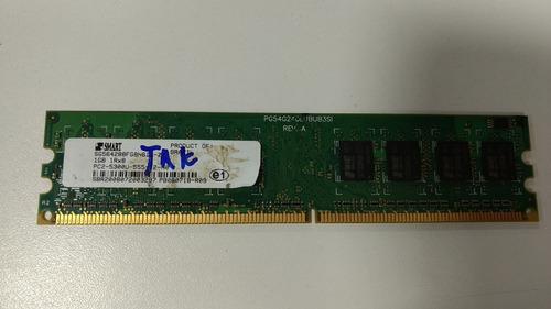 memória 1gb ddr2 computador pc informática
