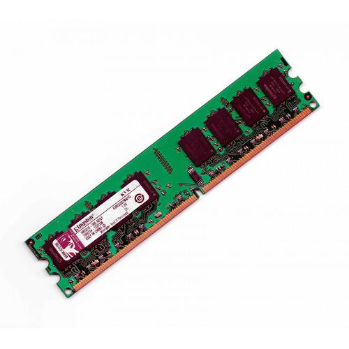 memória 1gb ddr2 kingston 533mhz kvr533d2n4/1g pc2-4200 cl5
