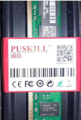 memoria 2gb ddr2 800 compatible 667 533  intel amd mac nueva