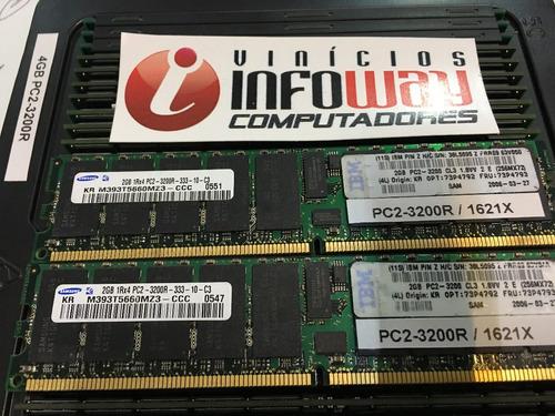 memoria 2gb ecc reg pc2-3200r dell snpf6929c/2g snpg6036c/2g