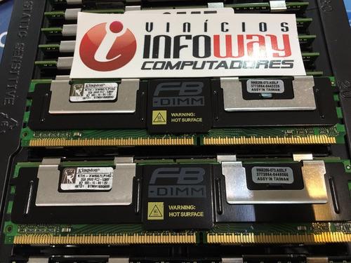 memoria 2gb pc2-5300f hp xw6400 xw6600 xw460c xw8400 xw8600