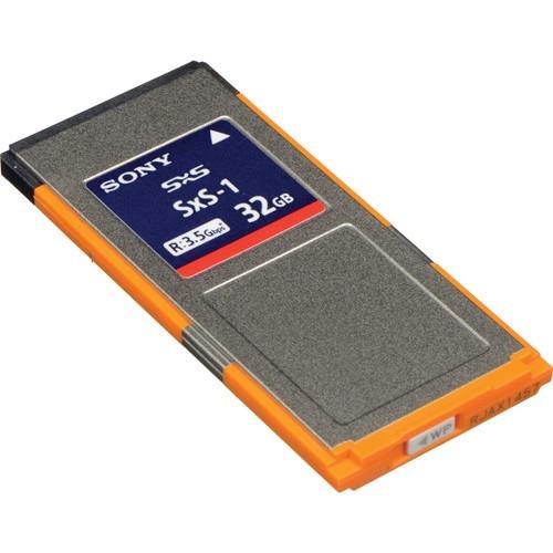 memoria 32gb sony sxs memory card xdcam / xdcam ex