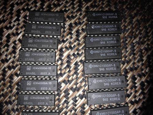 memória 41256 , 41c1000 , 41000a , 4416, 4464 , 44256 , 4164