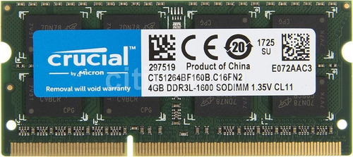 memoria 4gb ddr3 para
