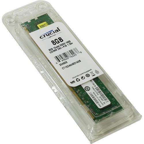 memoria 4gb para laptop ddr4 2400mhz crucial, nueva