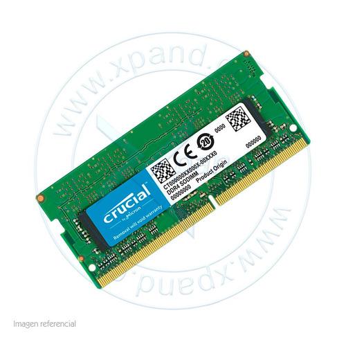 memoria 4gb para laptop ddr4