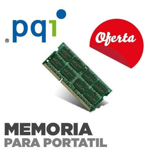 memoria 4gb para portatil ddr3 1333 16  pqi  nuevas garantia