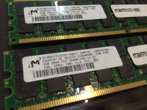 memoria 4gb pc2-3200r ibm system x3800 x3850 x3950 x3950e
