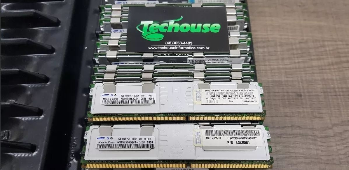 64GB PC2-5300F Fully Buffered Memory RAM for IBM ThinkStation D10 8x8GB