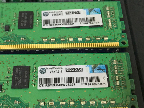memoria 4gb pc3-10600e hp proliant dl360 dl360e dl360p g7 g8