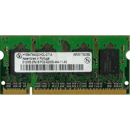memoria 512 ddr2 infineon hys64t6420hdl-3.7-a
