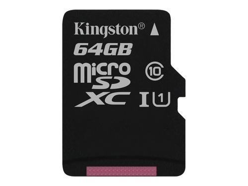 memoria 64g kingston microsdxc canvas select