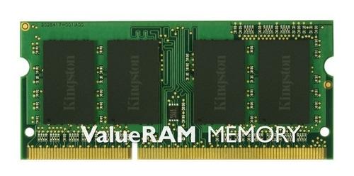memoria 8gb kingston  1600 ddr3 sodimm notebook
