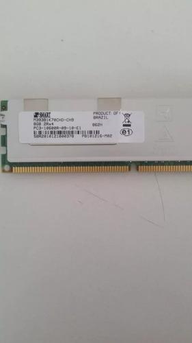 memoria 8gb pc3-10600r-09 dell, hp ibm smart r710 r610 r410