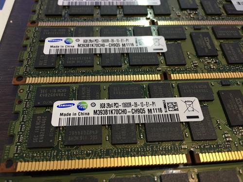 memória 8gb pc3-10600r dell poweredge r710 r715 r720 r810