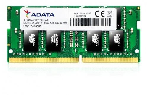 memoria adata sodimm ddr4 4gb pc4-19200 2400mhz cl17 260pin