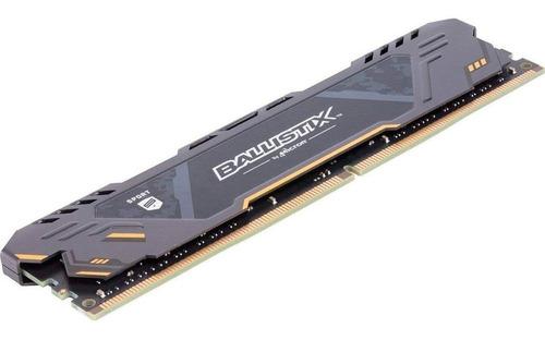 memória ballistix desktop 8gb ddr4 2666 c dissipador micron