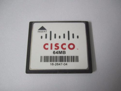 memoria cf 64mb cisco compact flash tarjeta 64 mb card