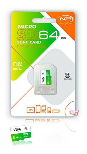 memoria clase 10 micro sd 64gb celular np rapida