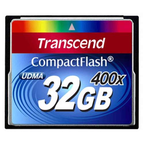 memoria compact flash 32 gb transcend 400x professional