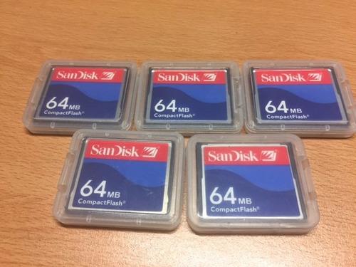 memoria compact flash 64mb