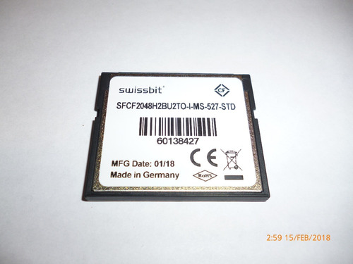 memoria compact flash