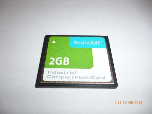 memoria compact flash card 2g, c/u