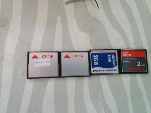 memoria compact flash de 1gb y 2gb. e