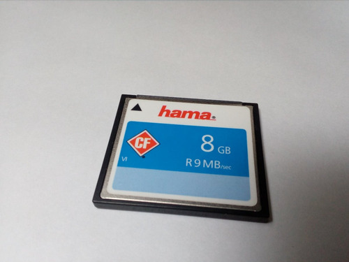 memoria compact flash hama 8gb