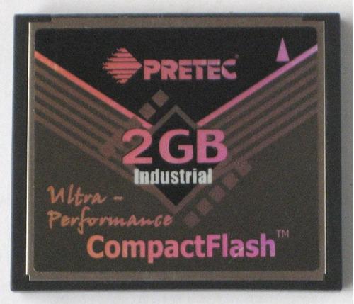 memoria compact flash industrial pretec 2gb cf