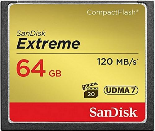 memoria compactflash 64gb sandisk