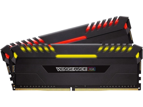 memoria corsair 16gb 3600mhz ddr4 vengeance rgb 2x8gb