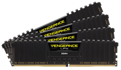 memória corsair ddr4 8gb 2400mhz vengeance lpx 8gb (2 x 4gb)