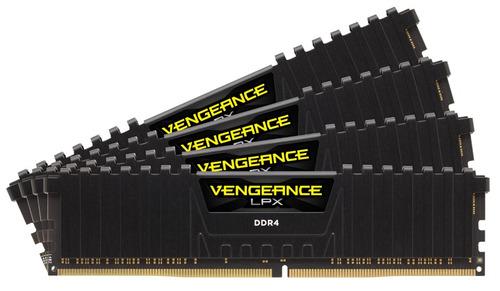 memória corsair ddr4 vengeance lpx 1 x 8gb 2400mhz black